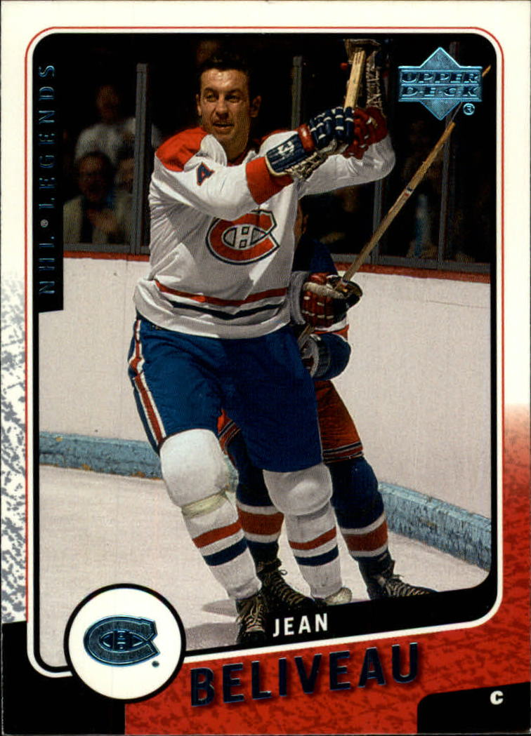 2000-01 Upper Deck Legends #64 Jean Beliveau