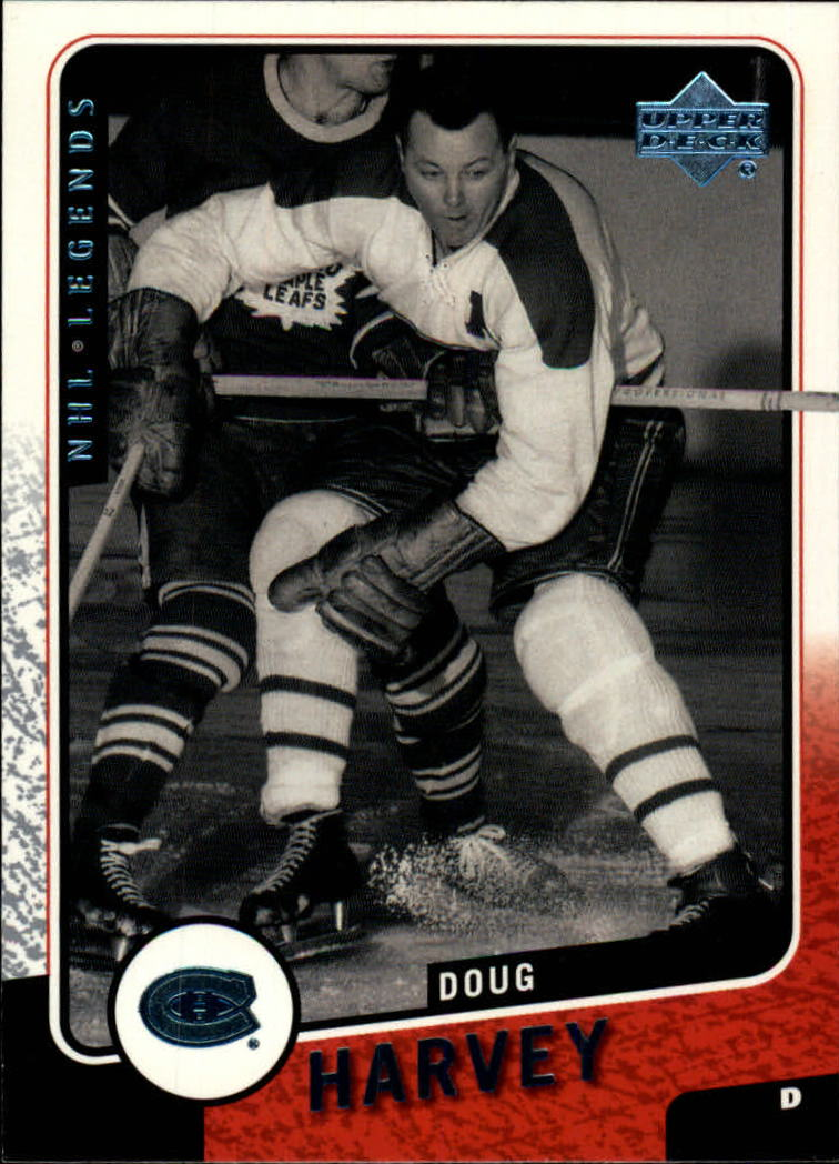 2000-01 Upper Deck Legends #65 Doug Harvey