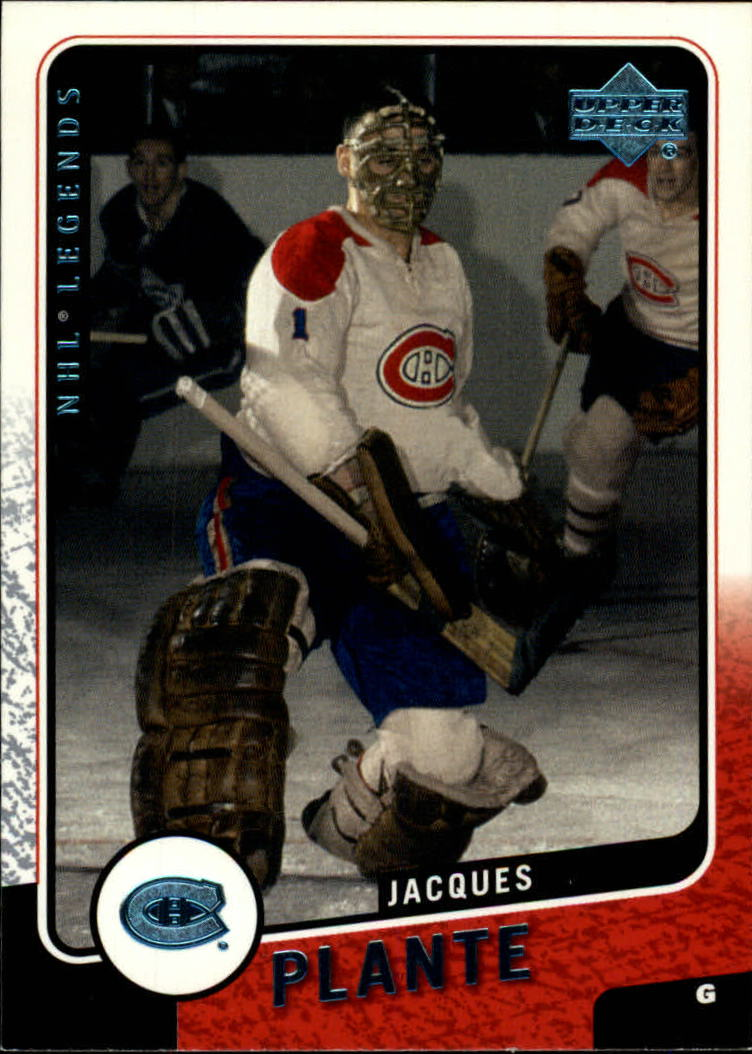2000-01 Upper Deck Legends #66 Jacques Plante