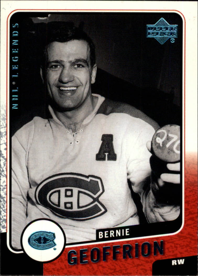 2000-01 Upper Deck Legends #71 Bernie Geoffrion