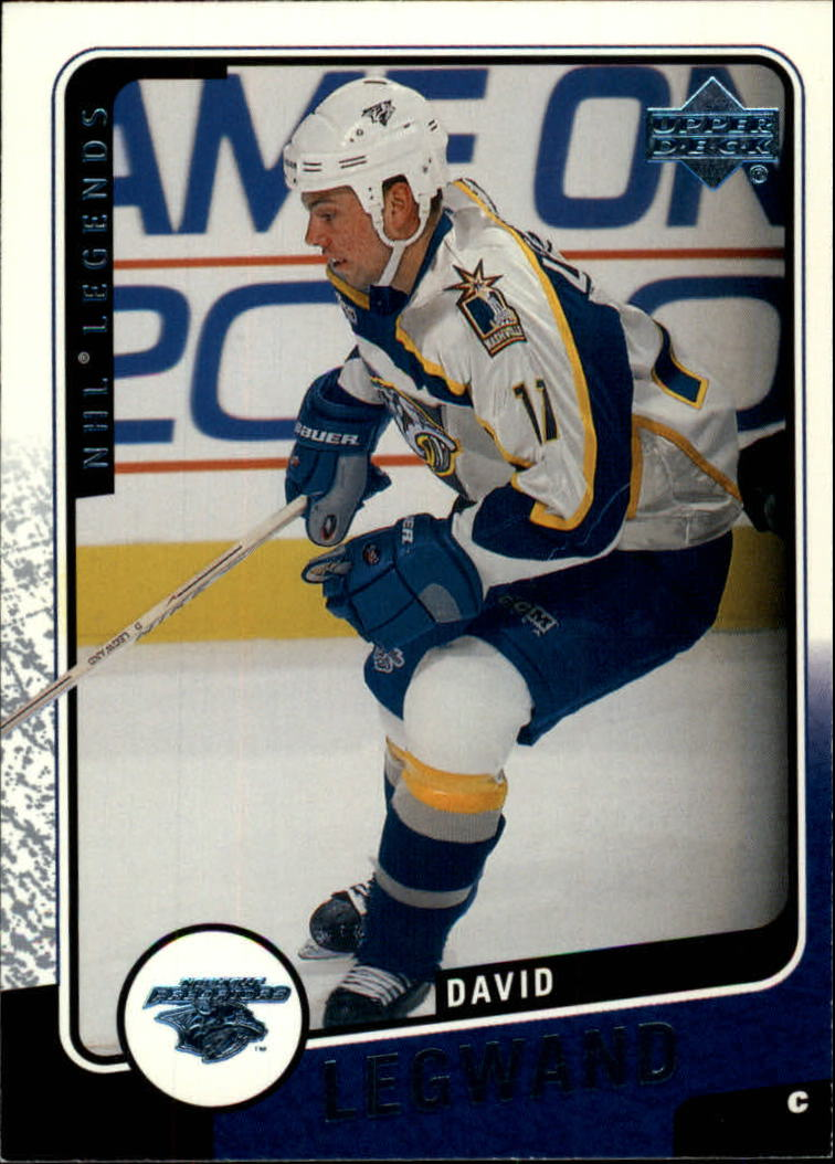2000-01 Upper Deck Legends #74 David Legwand