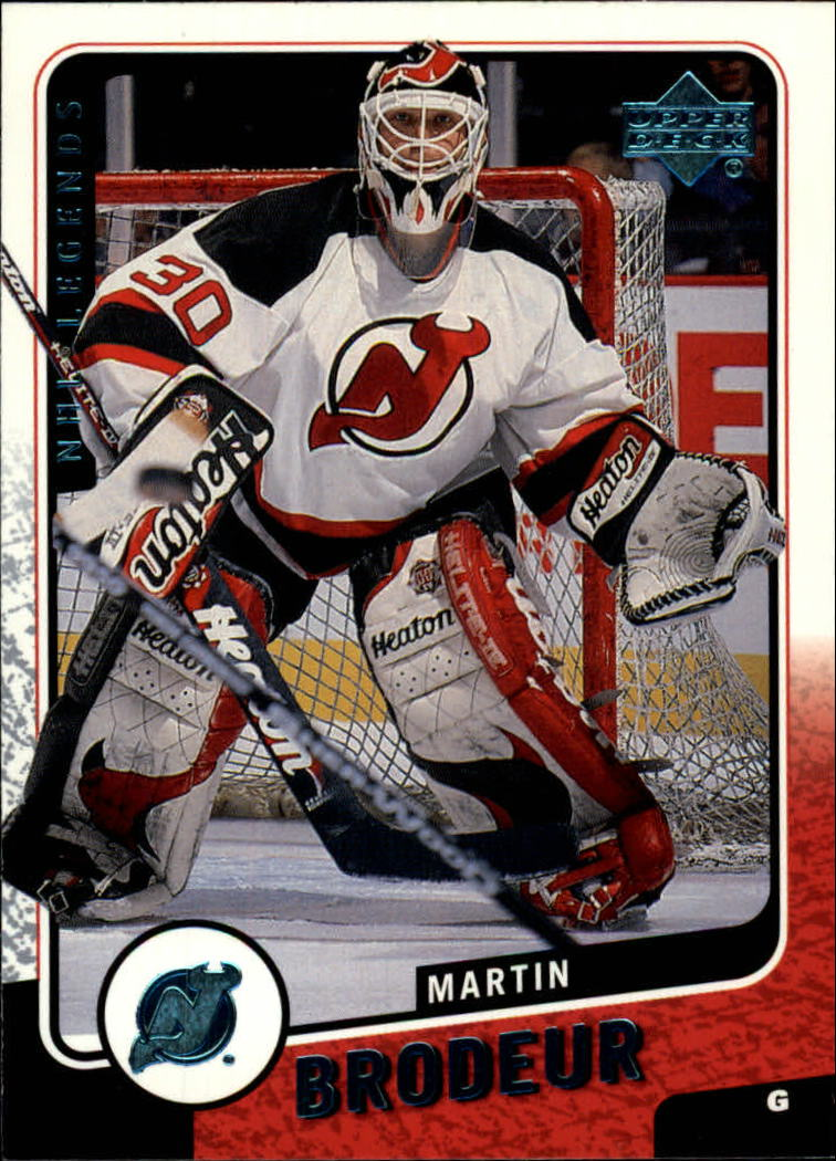 2000-01 Upper Deck Legends #76 Martin Brodeur