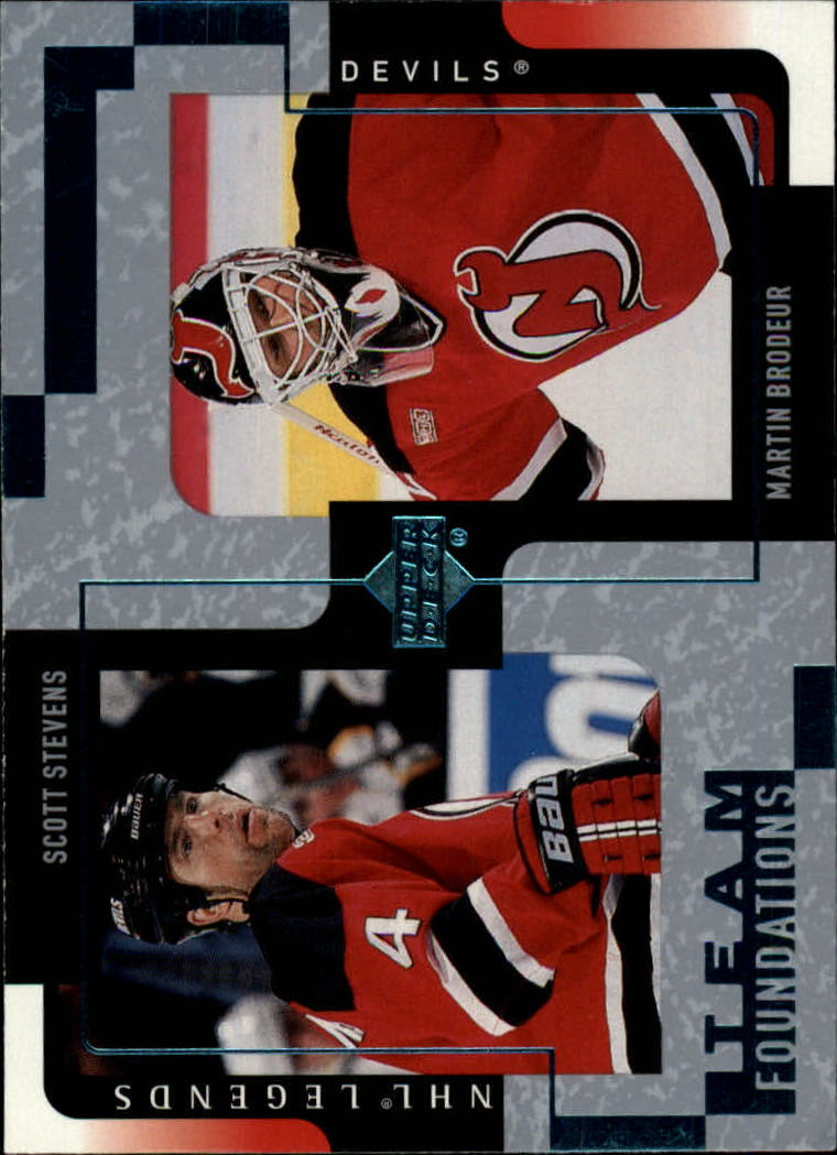 2000-01 Upper Deck Legends #79 Scott Stevens/Martin Brodeur