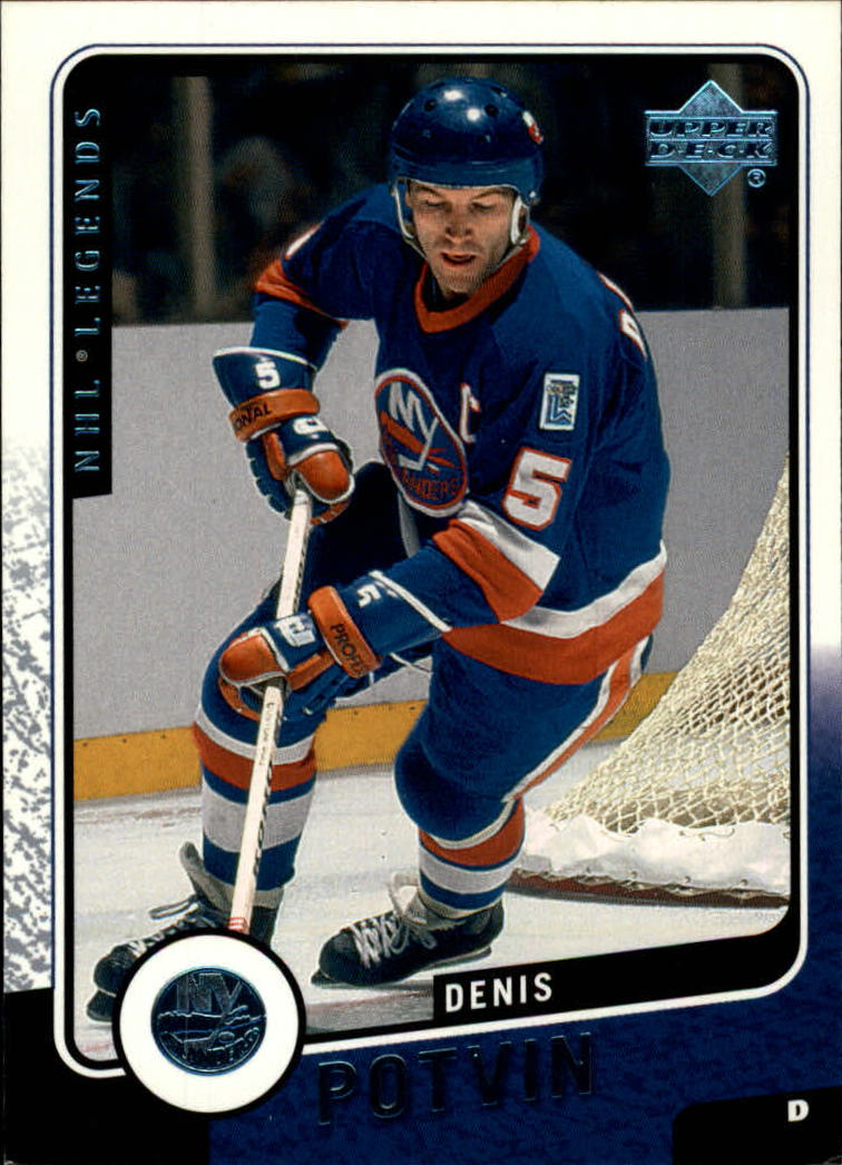 2000-01 Upper Deck Legends #80 Denis Potvin