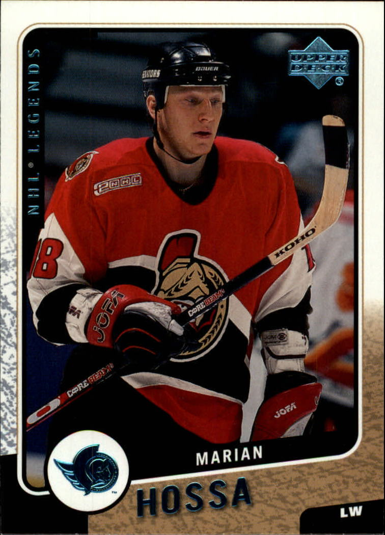 2000-01 Upper Deck Legends #93 Marian Hossa