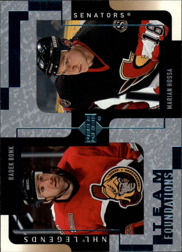 2000-01 Upper Deck Legends #95 R.Bonk/M.Hossa
