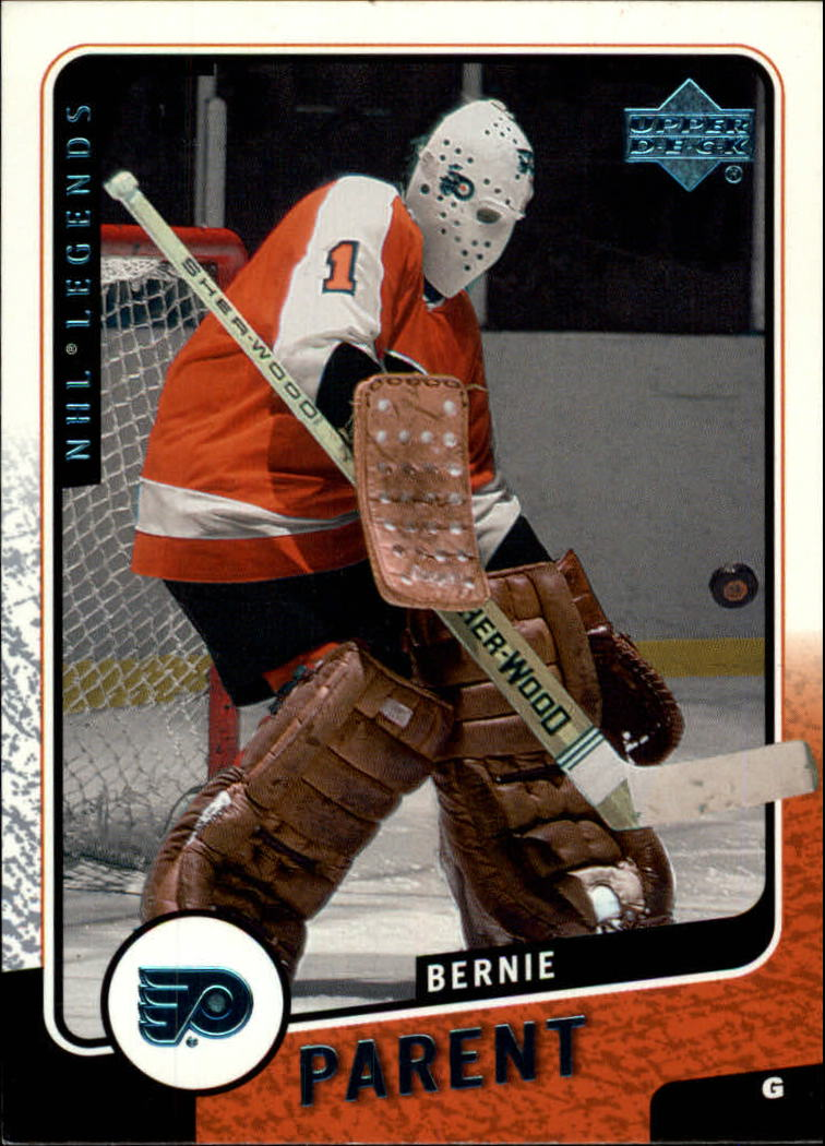 2000-01 Upper Deck Legends #97 Bernie Parent