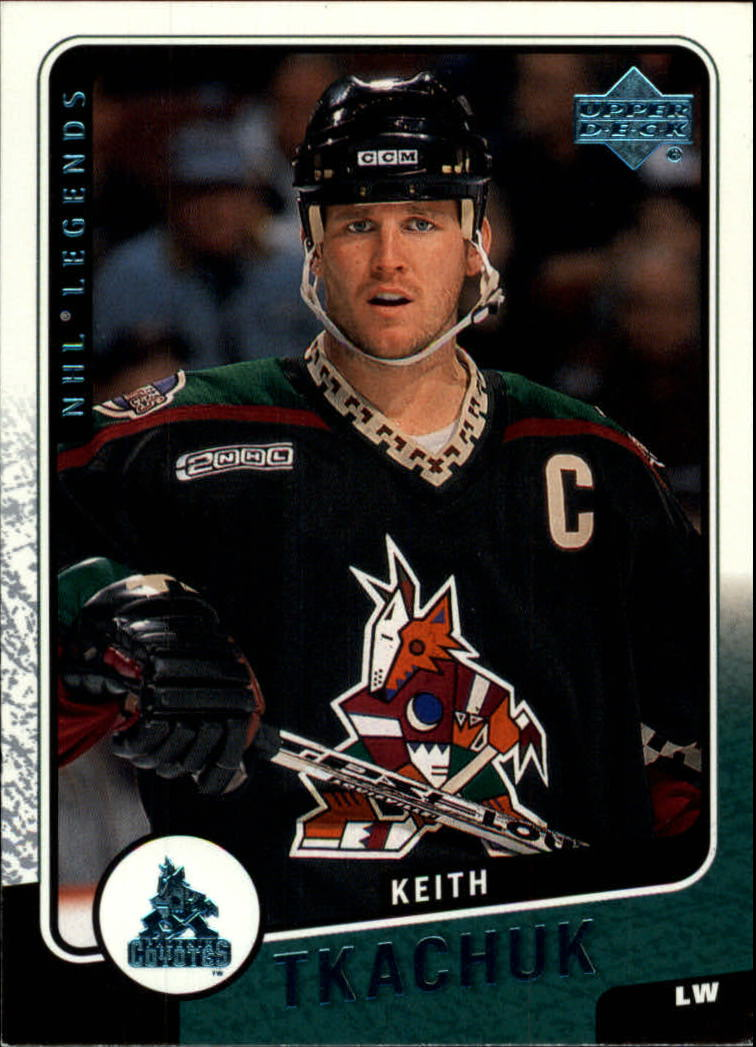 2000-01 Upper Deck Legends #103 Keith Tkachuk
