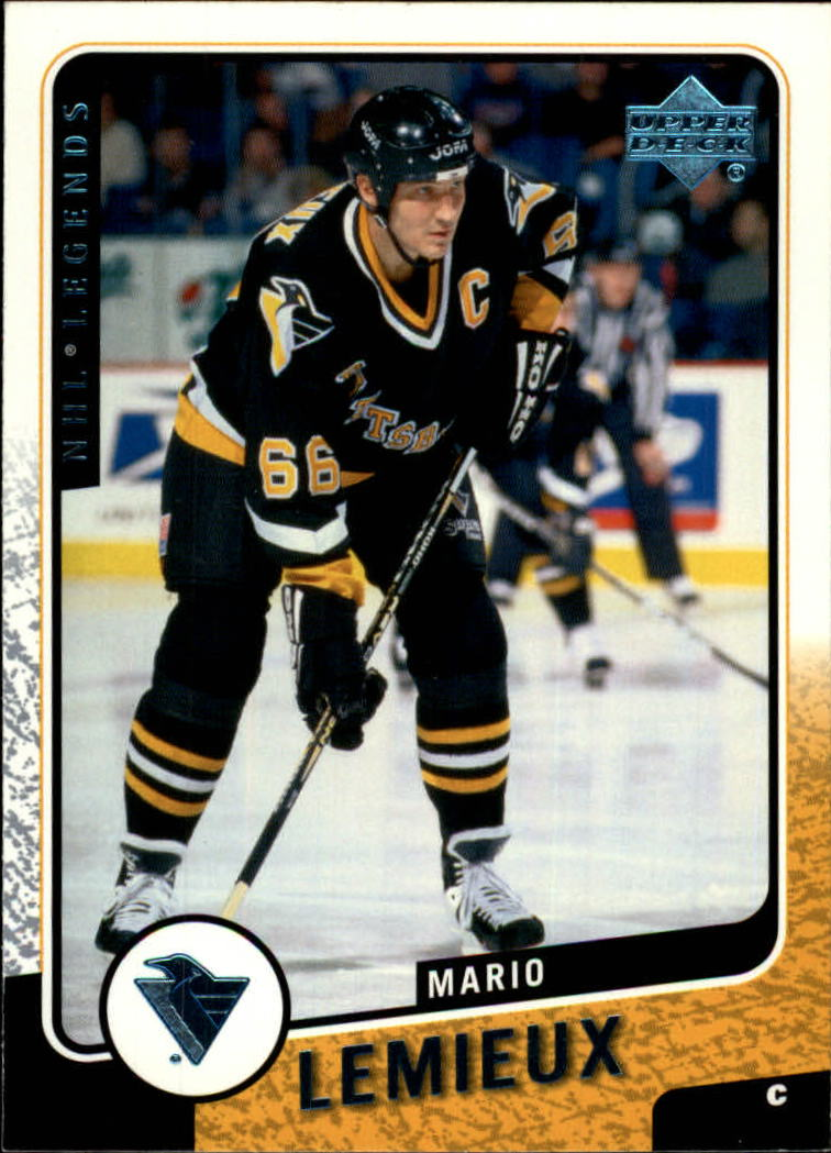 2000-01 Upper Deck Legends #105 Mario Lemieux