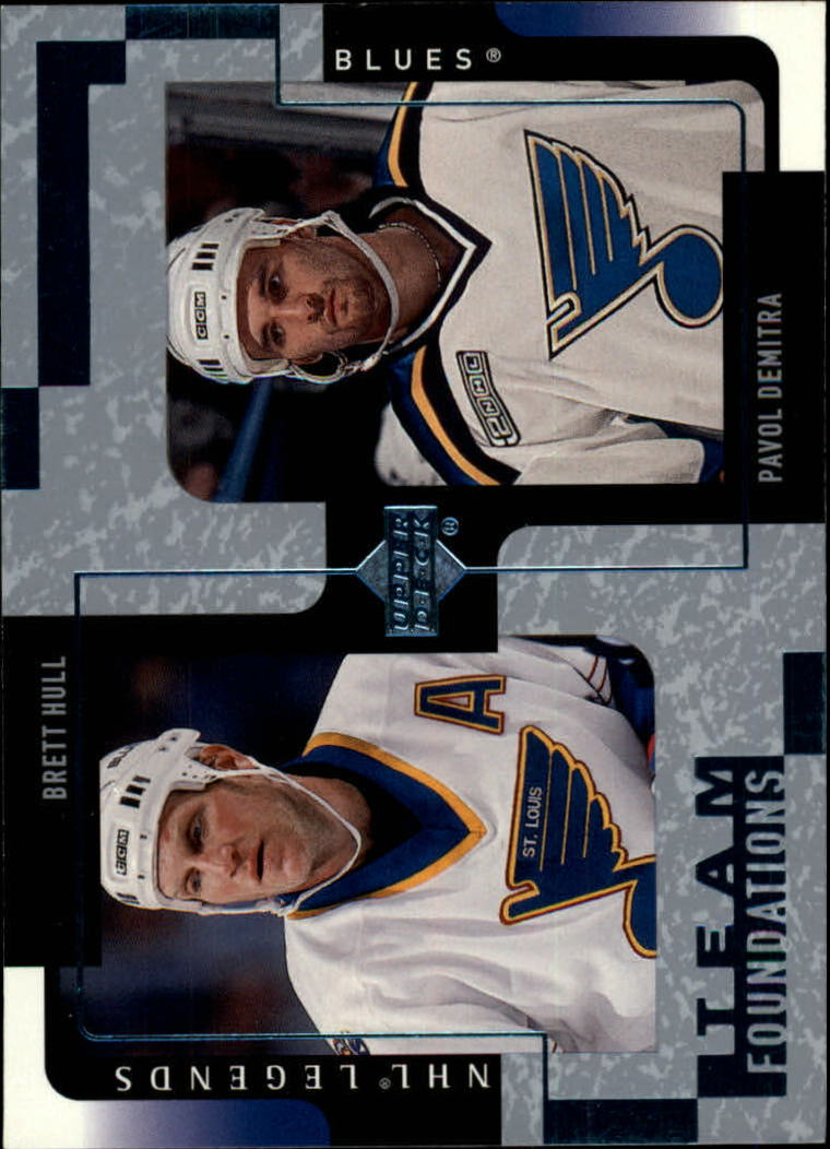 2000-01 Upper Deck Legends #117 Brett Hull/Pavol Demitra
