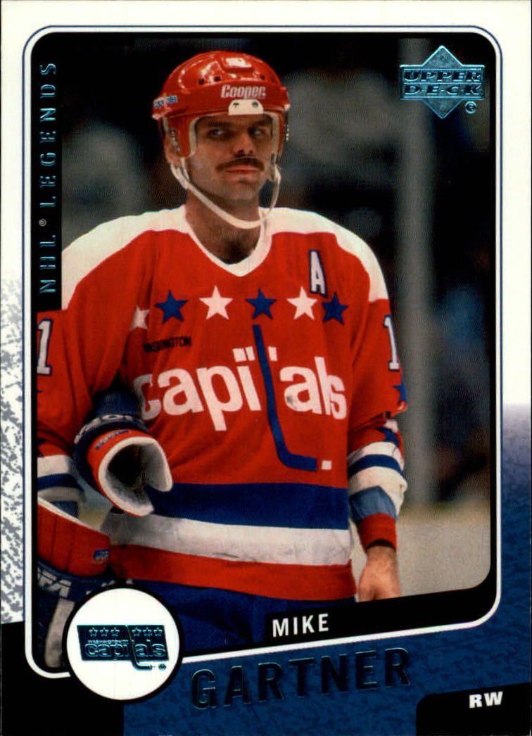 2000-01 Upper Deck Legends #129 Mike Gartner front image