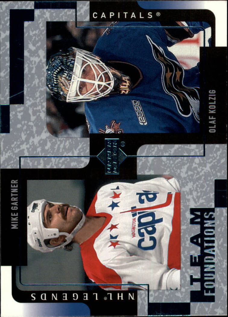2000-01 Upper Deck Legends #132 Mike Gartner/Olaf Kolzig
