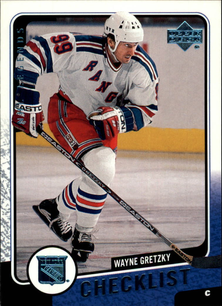 2000-01 Upper Deck Legends #134 Wayne Gretzky CL front image