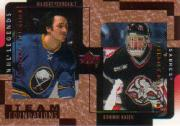 2000-01 Upper Deck Legends Legendary Collection Bronze #18 G.Perreault/D.Hasek