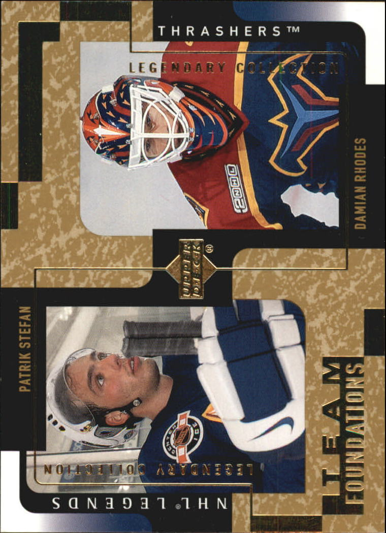 2000-01 Upper Deck Legends Legendary Collection Gold #5 Patrik Stefan/D.Rhodes