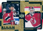 2000-01 Upper Deck Legends Legendary Collection Gold #79 S.Stevens/M.Brodeur