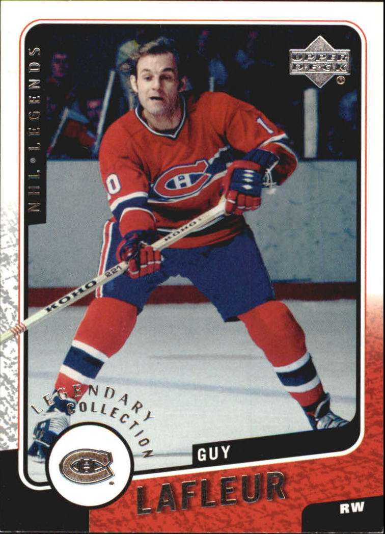 2000-01 Upper Deck Legends Legendary Collection Silver #67 Guy Lafleur