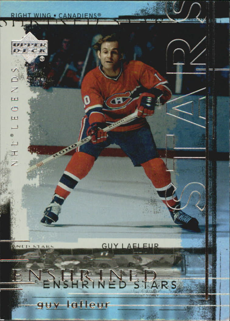 2000-01 Upper Deck Legends Enshrined Stars #ES7 Guy Lafleur