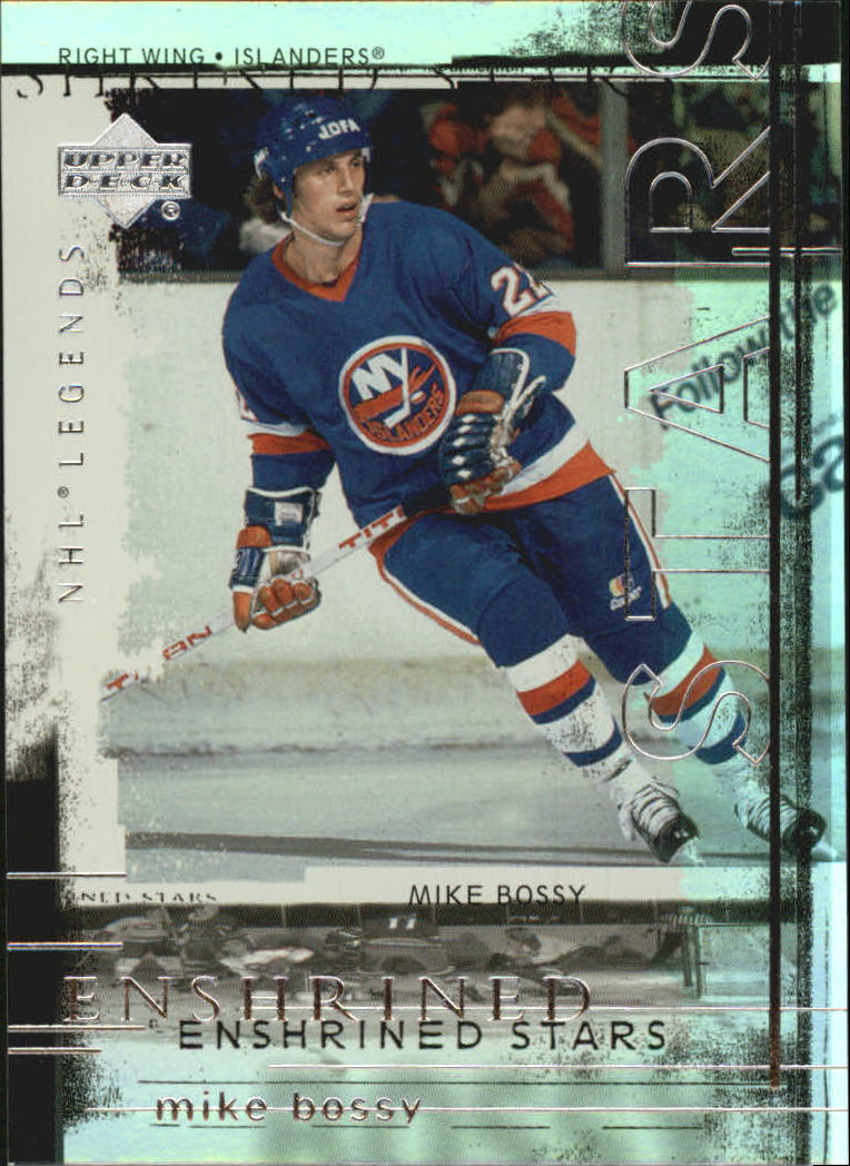 2000-01 Upper Deck Legends Enshrined Stars #ES8 Mike Bossy