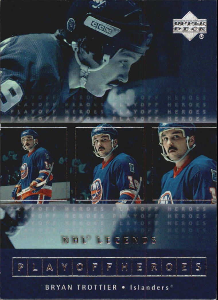 2000-01 Upper Deck Legends Playoff Heroes #PH11 Bryan Trottier