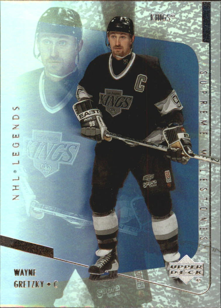 2000-01 Upper Deck Legends Supreme Milestones #SM1 Wayne Gretzky