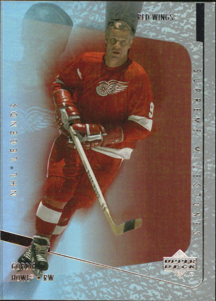 2000-01 Upper Deck Legends Supreme Milestones #SM2 Gordie Howe