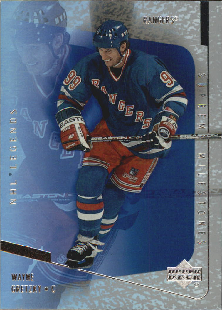 2000-01 Upper Deck Legends Supreme Milestones #SM4 Wayne Gretzky