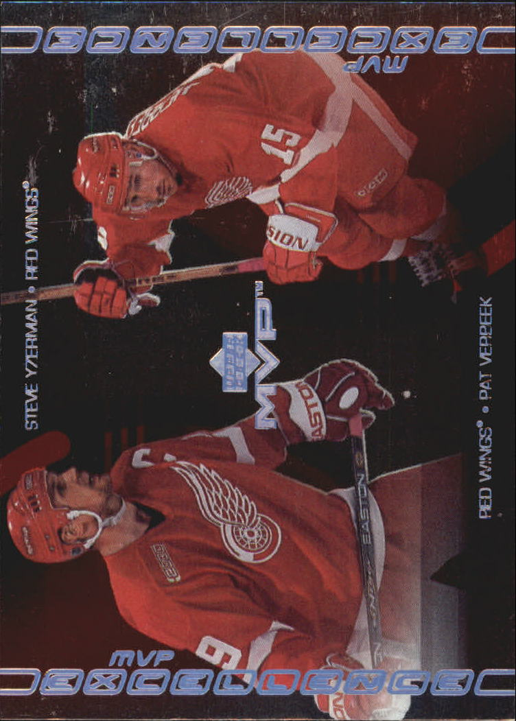 2000-01 Upper Deck MVP Excellence #ME5 Steve Yzerman/Pat Verbeek
