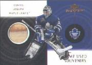 2000-01 Upper Deck MVP Game-Used Souvenirs #CGCJ Curtis Joseph