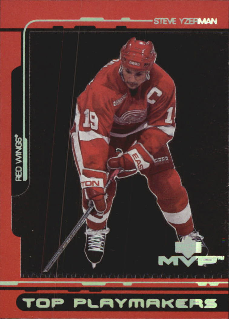 2000-01 Upper Deck MVP Top Playmakers #TP5 Steve Yzerman