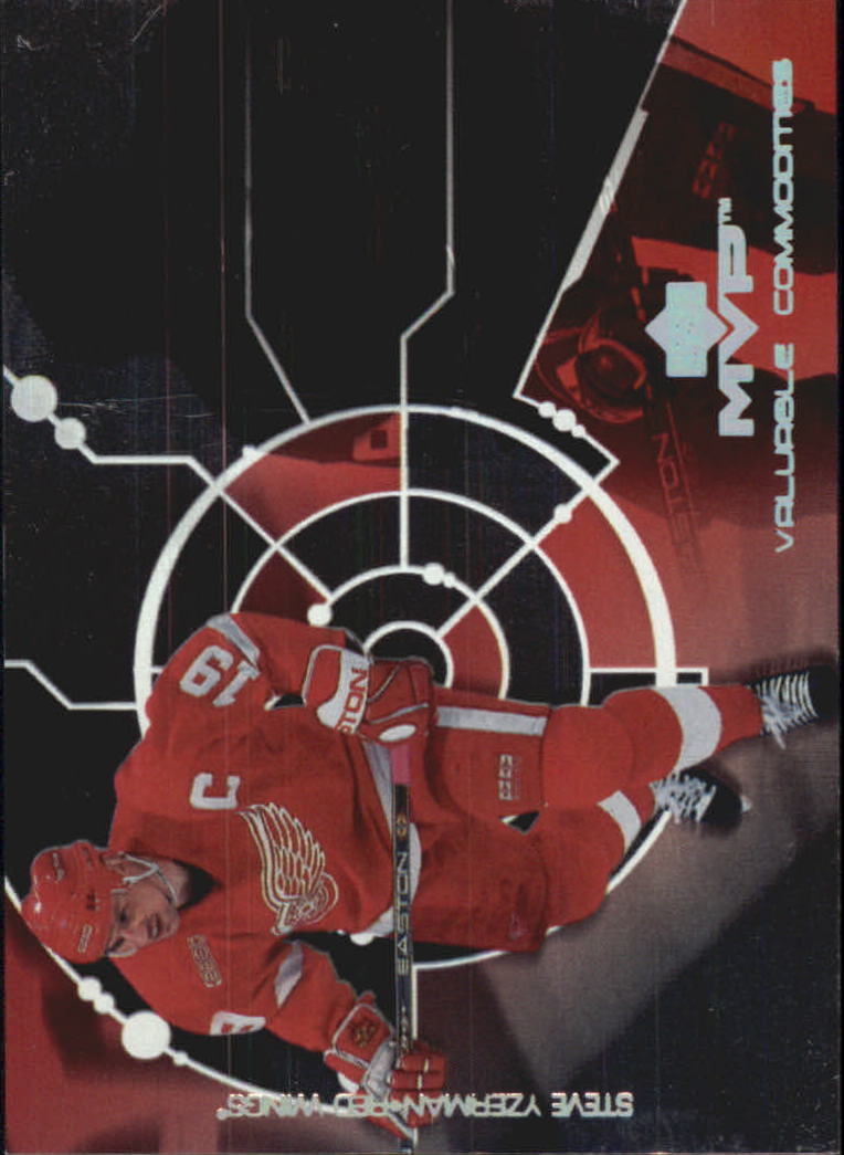 2000-01 Upper Deck MVP Valuable Commodities #VC5 Steve Yzerman
