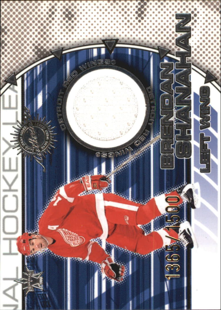 2000-01 Vanguard Dual Game-Worn Jerseys #5 Brendan Shanahan/Chris Chelios/1500