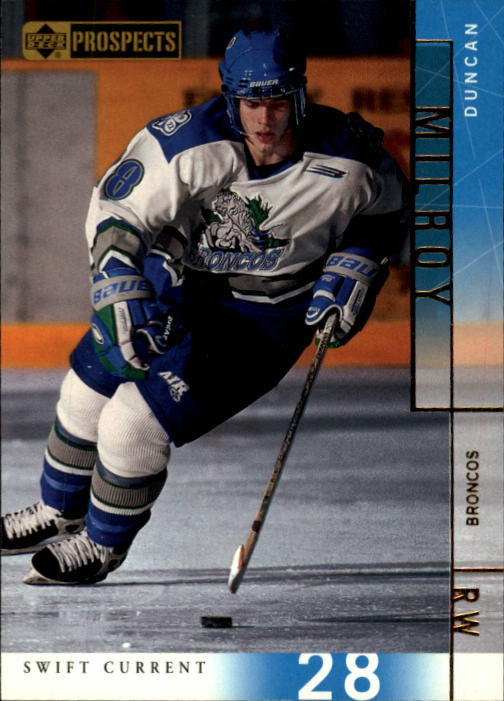 2000-01 UD CHL Prospects #67 Duncan Milroy