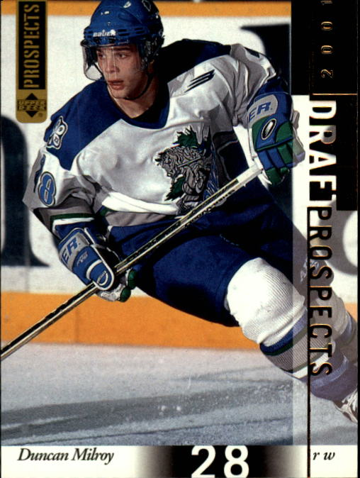 2000-01 UD CHL Prospects #94 Duncan Milroy