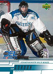 2000-01 German DEL Upper Deck #224 Ian Gordon