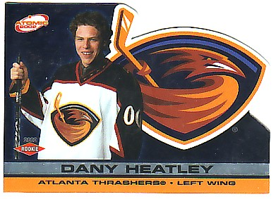 2001-02 Atomic #103 Dany Heatley