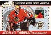 2001-02 Atomic Patches #10 Jocelyn Thibault/328