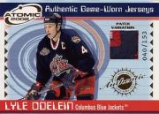 2001-02 Atomic Patches #15 Lyle Odelein/153
