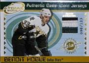 2001-02 Atomic Patches #17 Benoit Hogue/123