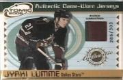 2001-02 Atomic Patches #18 Jyrki Lumme/303