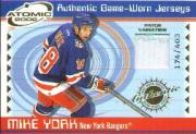 2001-02 Atomic Patches #41 Mike York/403