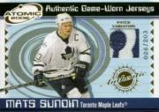 2001-02 Atomic Patches #48 Mats Sundin/203