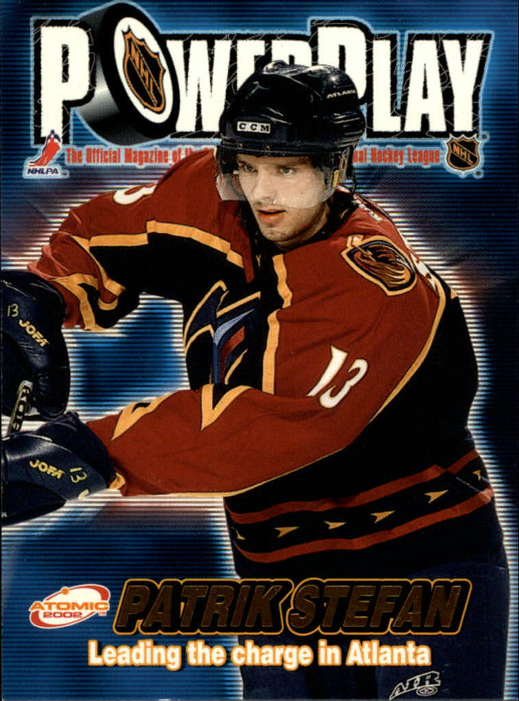 2001-02 Atomic Power Play #2 Patrik Stefan