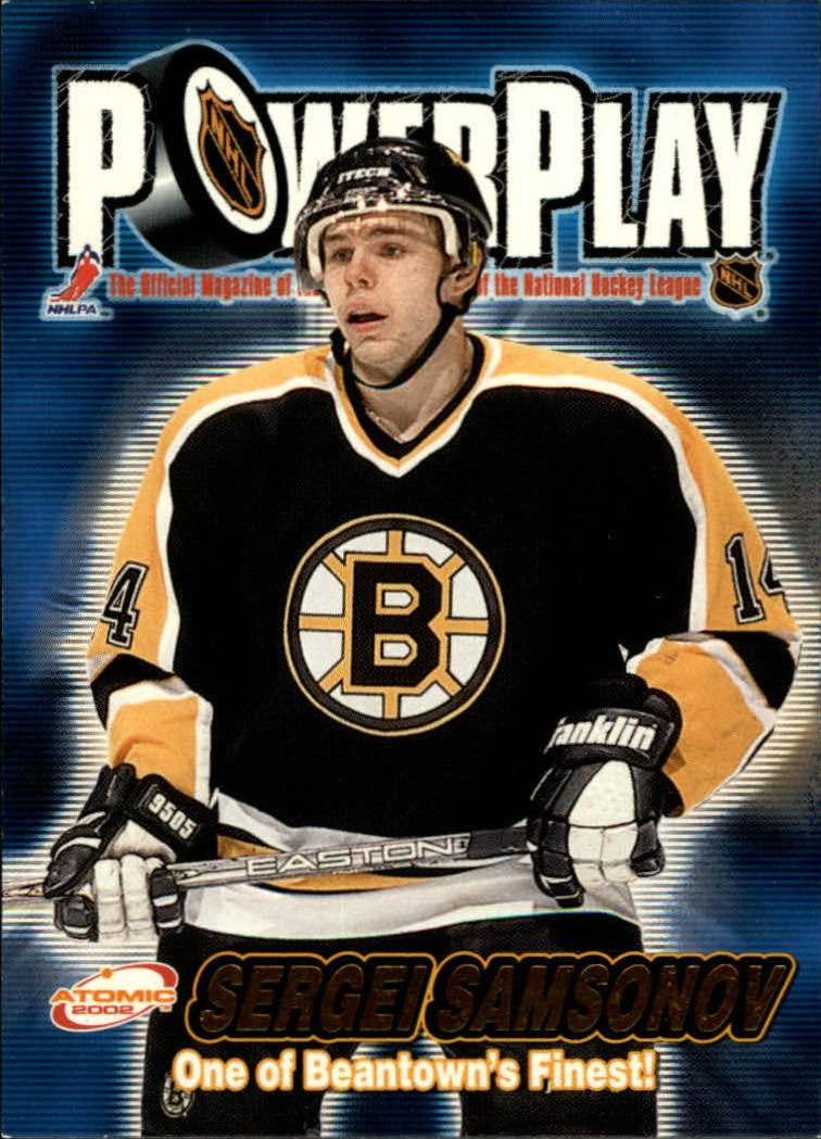 2001-02 Atomic Power Play #3 Sergei Samsonov