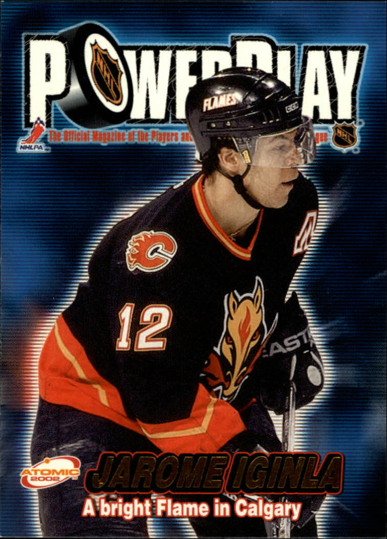 2001-02 Atomic Power Play #5 Jarome Iginla