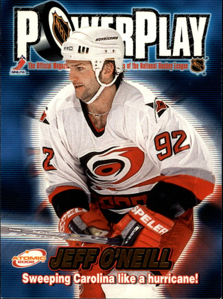2001-02 Atomic Power Play #6 Jeff O'Neill