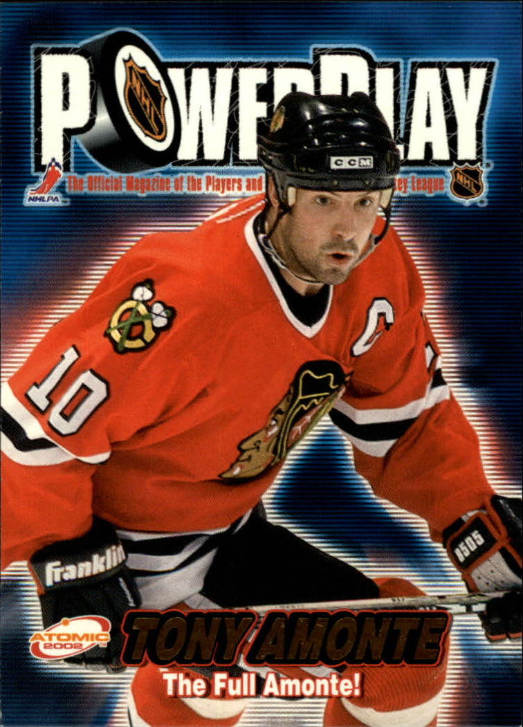 2001-02 Atomic Power Play #7 Tony Amonte