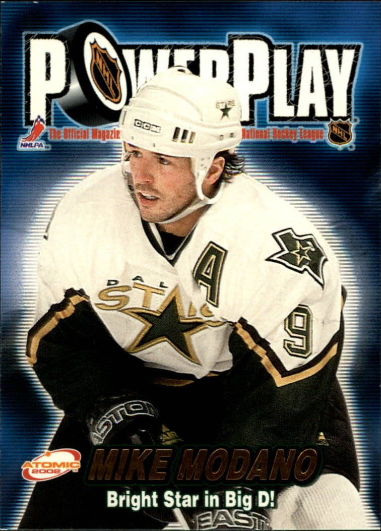 2001-02 Atomic Power Play #11 Mike Modano