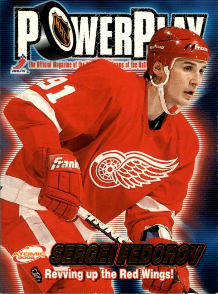 2001-02 Atomic Power Play #12 Sergei Fedorov