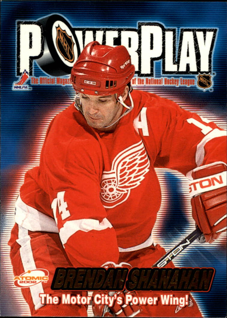 2001-02 Atomic Power Play #13 Brendan Shanahan